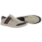 Sapatenis masculino casual CRshoes bege