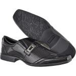 Sapato masculino social CRshoes verniz preto com brinde carteira