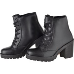 Coturno feminino tratorado CRshoes preto
