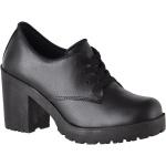 Oxford feminino tratorado CRshoes preto fosco
