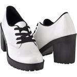 Oxford Feminino Tratorado CRshoes Branco