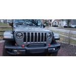 Para-choque Dianteiro em Aço Jeep Wrangler JK - Modelo Rubicon com Barra de Proteção 2007/2018