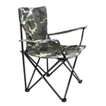 Cadeira Dobrável P/ Camping Camuflada