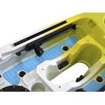 Caiaque Dandaro Power Com Motor Eletrico 44lbs - Amarelo