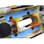 Caiaque Dandaro Power Com Motor Eletrico 44lbs - Laranja
