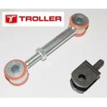 Bieleta Estabilizador Troller Reforçada e Ajustável 2000 a 2014