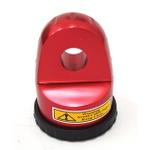 Gancho Para Cabo Sintetico Até 12mm De Guincho Eletrico Aluminio 55 - Cor Vermelha