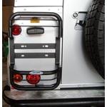Protetor De Lanternas (lado Esquerdo) - Land Rover Defender 90 e 110