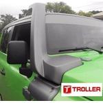 Snorkel Para Novo Troller 2015/2018 Cinza Londres