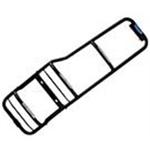 Escada Com Protetor De Lanternas (lado Esquerdo) - Defender 90 e 110