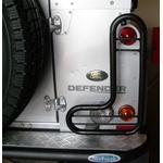 Protetor De Lanternas Traseiro (lado Direito) - Land Rover Defender 90 e 110