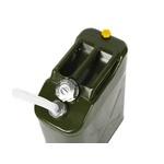 Galão De 20 Litros Combustivel Metal Modelo Militar Europeu 0,9mm