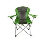 Cadeira Dobrável Reforçada P/ Camping Capacidade 120 Kg