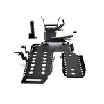 Kit De 8 Proteções Inferiores Para Novo Troller 2015 Em Diante - Preto
