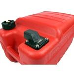 Galão De Combustivel 24 Litros Para Motor De Popa Barcos