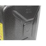 Galão De 20 Litros Combustivel Metal Modelo Militar Europeu Cinza Texturizado