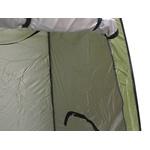 Barraca Banheiro Iglu Para Camping Verde