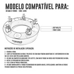 Alargador / Espaçador De Roda Jipe Willys , F-1000 38,1mm 5x139,7