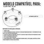 Alargador / Espaçador De Roda Para Pajero Tr4 38mm - 5x114,3