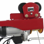 Talha Elétrica Dandaro Modelo D-1200t Com Trolley Capacidade 600 / 1200 Kg - 220v - 2200w