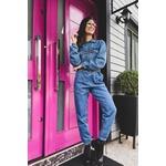 Calça jogging ribana barra alcance jeans