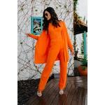 Calça Trico Gramado laranja Blessed