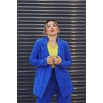 Calça alfaiataria azul vida bela