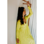Vestido Jeori Blessed Amarelo