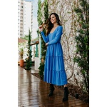 Vestido Jeori Blessed Azul