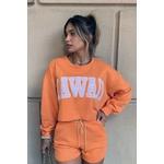 Conjunto Hawaii laranja Salgunamu