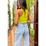 Calça jeans pantalona Vida bela
