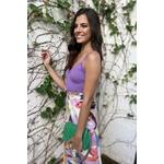 top cropped alcinha novo mexico lilas blessed