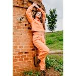 Jaqueta alcance jeans laranja