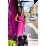 Macacão pantalona rosa salgunamu