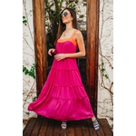 Vestido Chiclé Rosa