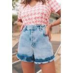 Short Blessed Jeans Lavagem