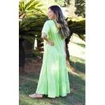 Vestido DBoneca Manu Verde Lima - Tamanho Único