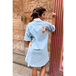 Vestido Salgunamu Azul Michey