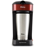 Cafeteira Philco Single Thermo Inox Red 600W 450ml PCF21
