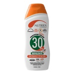 Protetor Solar FPS 60 120ML 1/3 UVA com Repelente Nutriex