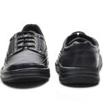 Sapato Masculino Conforto Cadarço Preto