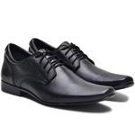 Sapato Social Masculino Com Cadarço Em Couro Legitimo