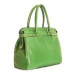 Bolsa Poucelle em Couro / Verde