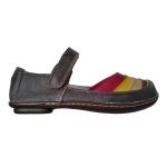 Sapatilha em Couro Stone Cinza / Colors