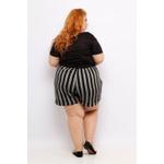 Blusa Podrinha Preta - Plus Size