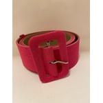 Cinto Forrado Linho Pink - Plus Size