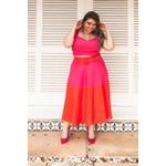 Top Babadinho Linho Pink - Plus Size