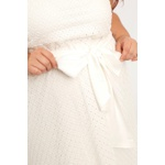 Vestido Laise Branco - Plus Size