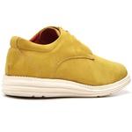 Sapatenis Casual Masculino D&R Shoes Couro Legitimo Mostarda
