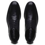 Sapato Social Masculino em Couro Ecologico Confort Preto